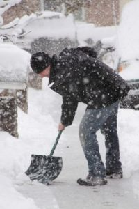 Snow-shoveling