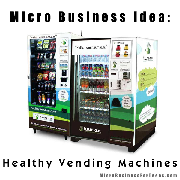 how to start my own vending machine business