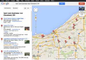 Here's a Tip: Set Google Search to Map to search your area for businesses like your idea.