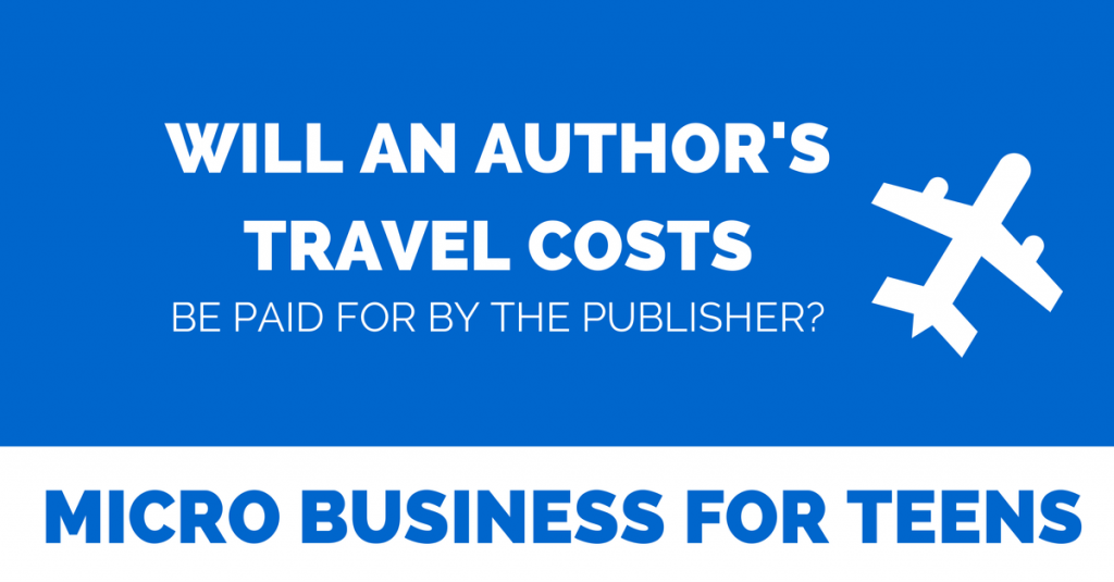 Video: Will an Author's Travel Costs Be Paid by the Publisher?