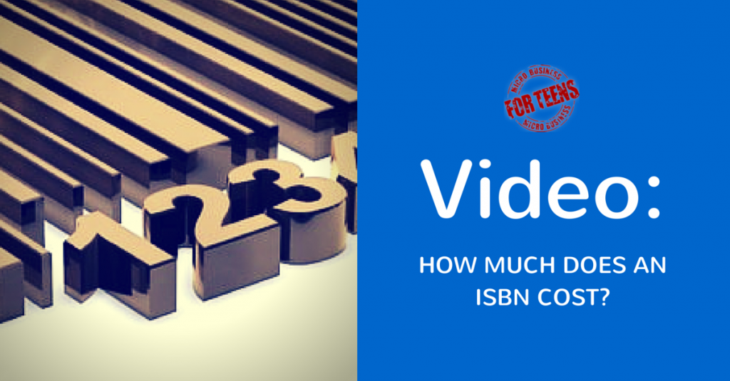 How Much Does an ISBN Cost?